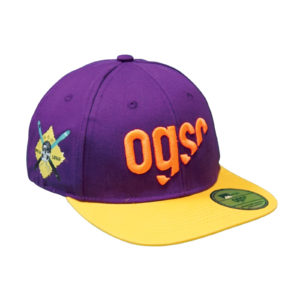 ogso rapper cap purple